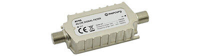 4G LTE IN LINE FILTER TV Signal Filter stops Interference from Mobiles