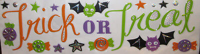 HALLOWEEN wall stickers 20 decals TRICK OR TREAT candy bat cute for kids party](Cute Kid Halloween Treats)