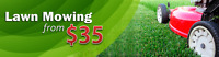 Lawn Cutting - Clean ups,  Fertilizer,  Aerations.  * Best Price