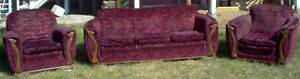 40s Couch and Chairs