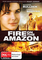 Fire on the Amazon - Sandra Bullock DVD NEW