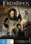 Lord of The Rings Return of The King DVD