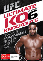 UFC: Ultimate Knockouts 6 DVD NEW