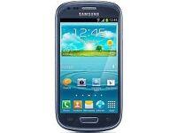 Samsung Galaxy. S3 mini. Unlocked. Blue. Mint. £50. Fix price