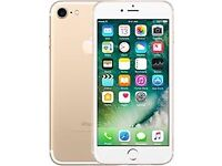 iPhone 7 silver 128GB on EE