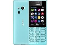 Nokia 216 - Aqua Blue