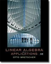 Linear Algebra with Applications - 3rd Ed. (Hardcover) Kingston Kingston Area image 1