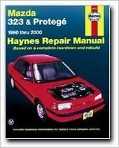 Haynes Repair Manual - Mazda 323 & Protege, 1990-2000