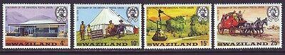 Swaziland 1974 SC 214-217 MNH Set Postal Centenary
