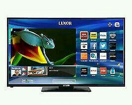 """Luxor 40"""" LED smart WIFI tv built in DVD combi HD freeview USB media player ."""