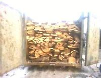 Dry hardwood firewood slabs 8.5 bush cords free delivery