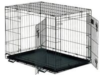 2 dog cages one like new other one is used £40.00 for both or £25.00 each