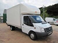 24/7 MOVING VAN AND MAN HIRE BIG VAN MOPED DELIVERY RELIABLE HOUSE MOVING RUBBISH COLLECTION SERVICE