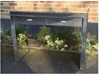 Venetian Mirrored Console Table