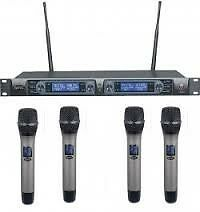 hybrid r4 uhf 4 channel receiver plus 4x th1wireless handheld mics other gumtree classifieds. Black Bedroom Furniture Sets. Home Design Ideas