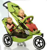Phil & Teds Sport Stroller with double seat + free footmuff