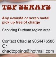 ♻️ free removal of electronics and scrap metal ♻️