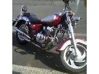 Jinlun Texan Cruiser 58 plate. Ideal commuter or first bike. Recent rear tyre, MOT until December