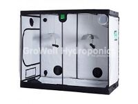 XXL BudBox Pro Grow Tent (120cm x 240cm x 200cm) and kit