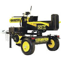 Champion 30 Ton Log Splitter w/ cover