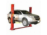 Two Posts Car Lifting Ramp 4 Ton 3 Phase