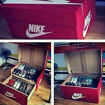 Nike Trainer Storage Box Large In Paisley