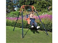 Baby outside swing