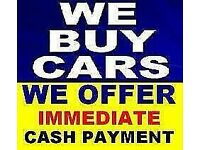 Cars wanted. Cash on collection today. We buy any car