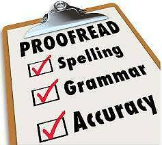 Essay assignment editing, proof reading, grammar checking West Ryde Ryde Area Preview