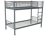 Brand New Quality Sturdy Metal Bunk beds in Silver FREE delivery Boxed
