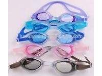 Swimming Goggles Unisex Mens Boys Girls crystal Clear Lens eyes,adjustable strap