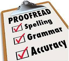 PROOFREADING AND EDITING: FAST, EFFICIENT AND PROFESSIONAL SERVICE