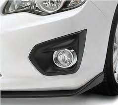 SUBARU-IMPREZA-2012-FOG-LIGHT-KIT-W-BLACK-SWITCH-BEZEL