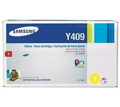 New Original Factory Sealed Samsung CLT-Y409 Yellow Cartridge Kitchener / Waterloo Kitchener Area image 1
