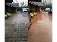 PRESSURE WASHING POWER WASHING ROOFS DRIVEWAYS PRIVATE AND COMMERCIAL CHERRY PICKER HIRE