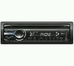 Cd player sony bluetooth usb aux in sub out