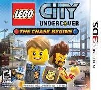 LEGO City Undercover: The Chase Begins - Nintendo 3DS New/Neuf