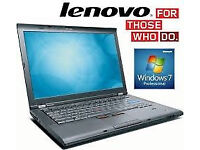 PROFESSIONALLY REFURBISHED LENOVO T410 INTEL i5 4GB RAM 320GB HDD WEBCAM OFFICE 6 MONTH WARRANTY
