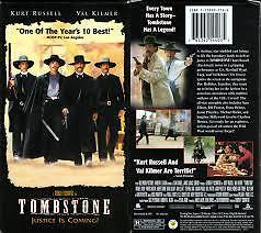 VHS - Tombstone Film