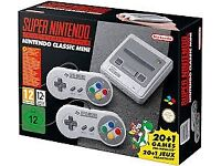Super Nintendo Snes mini classic boxed like new (100+ snes games added)