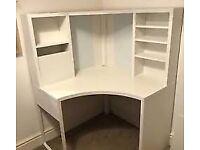Excellent condition Ikea Corner Micke Desk