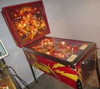 Late '70s or '80s Bally or Stern pinballs Working or not