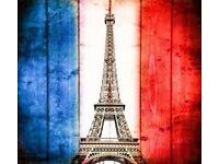 French-classes/lessons starting this month.