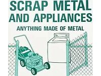 FREE SCRAP METAL COLLECTION/RUBBISH CLEARANCE
