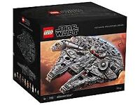 Lego millennium falcon 75192 ultimate collection IN HAND