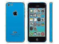 Apple iPhone 5C 8GB Blue, Unlocked, With Accessories, Good Condition, 6 Months Warranty