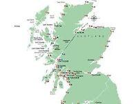 WANTED: Flat in or near Glasgow/Edinburgh/Dundee/Aberdeen