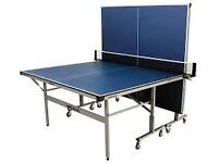 Blue Full Size Table Tennis Table