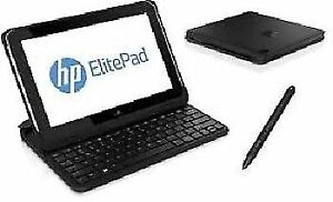 ★SEALED HP ELITE PAD 1000 G2★ B/N KEYBOARD/CASE★