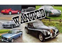WANTED ALL CLASSIC CARS WANTED ALL CLASSIC CARS